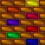 Ο τοίχος του πλινθώματος απεικόνιση αποθεμάτων