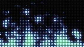 Ο τοίχος του φωτός μιμείται μια καίγοντας φλόγα διανυσματική απεικόνιση