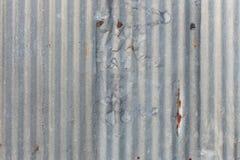 Ο τοίχος ψευδάργυρου Στοκ φωτογραφίες με δικαίωμα ελεύθερης χρήσης