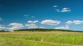 Ο τομέας Timelapse με τα σύννεφα, ένα γραφικό τοπίο με την κίνηση καλύπτει πέρα από τους τομείς απόθεμα βίντεο