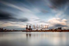 Ο2 του Λονδίνου χώρων Στοκ φωτογραφία με δικαίωμα ελεύθερης χρήσης