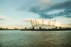 Ο2 του Λονδίνου χώρων στοκ φωτογραφίες