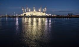 Ο2 του Λονδίνου χώρων στοκ εικόνες