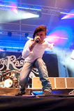 ο τραγουδιστής rasmus της Lauri nen yl Στοκ εικόνα με δικαίωμα ελεύθερης χρήσης