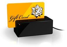 ο τρισδιάστατος τελικός κίτρινος Μαύρος καρτών δώρων ελεύθερη απεικόνιση δικαιώματος