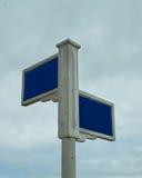 ο τρισδιάστατος δείκτης απεικόνισης δίνει την οδό Στοκ εικόνες με δικαίωμα ελεύθερης χρήσης