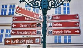 ο τρισδιάστατος δείκτης απεικόνισης δίνει την οδό Στοκ Φωτογραφίες