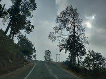 Ο τρομακτικός δρόμος στοκ φωτογραφία
