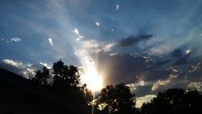 Τρομερός ουρανός στοκ φωτογραφία με δικαίωμα ελεύθερης χρήσης