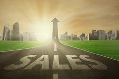 Ο τρόπος να βελτιωθούν οι πωλήσεις διανυσματική απεικόνιση