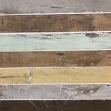 Ο τρύγος που στενοχωρήθηκε χρωμάτισε την ξύλινη slats σύσταση υποβάθρου Στοκ Εικόνα