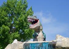 Ο τυραννόσαυρος Rex δεινοσαύρων Στοκ φωτογραφία με δικαίωμα ελεύθερης χρήσης