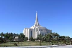 Ο των Μορμόνων ναός του Gilbert Αριζόνα στο Gilbert Αριζόνα στοκ φωτογραφία