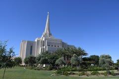 Ο των Μορμόνων ναός του Gilbert Αριζόνα στο Gilbert Αριζόνα στοκ εικόνα με δικαίωμα ελεύθερης χρήσης