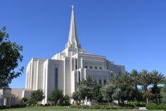 Ο των Μορμόνων ναός του Gilbert Αριζόνα στο Gilbert Αριζόνα στοκ φωτογραφίες με δικαίωμα ελεύθερης χρήσης