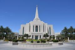 Ο των Μορμόνων ναός του Gilbert Αριζόνα στο Gilbert Αριζόνα στοκ εικόνα