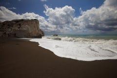 Ο τόπος γεννήσεως Aphrodite στη Κύπρο Στοκ Εικόνες