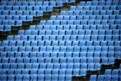 Ολυμπιακά καθίσματα εξεδρών επισήμων Στοκ Εικόνα