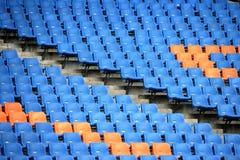 Ολυμπιακά καθίσματα εξεδρών επισήμων Στοκ εικόνα με δικαίωμα ελεύθερης χρήσης