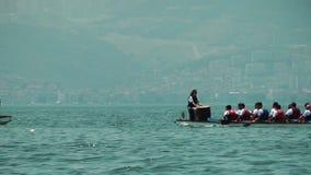 ολυμπιακός αθλητισμός κανό απόθεμα βίντεο
