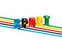 Ολυμπιακός αθλητισμός. Στοκ Φωτογραφία