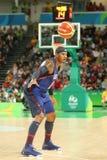 Ολυμπιακός πρωτοπόρος Carmelo Anthony της ομάδας ΗΠΑ στη δράση στην αντιστοιχία καλαθοσφαίρισης ομάδας Α μεταξύ της ομάδας ΗΠΑ κα Στοκ φωτογραφίες με δικαίωμα ελεύθερης χρήσης