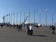 Ολυμπιακό πάρκο στο Sochi Στοκ φωτογραφίες με δικαίωμα ελεύθερης χρήσης