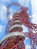 Ολυμπιακό πάρκο του Λονδίνου τροχιάς ArcelorMittal Στοκ φωτογραφία με δικαίωμα ελεύθερης χρήσης