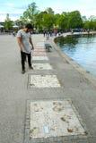 ολυμπιακό πάρκο του Μόναχου στοκ φωτογραφίες