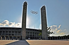 Ολυμπιακό στάδιο Βερολίνο στοκ εικόνα
