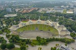 ολυμπιακό στάδιο του Μόναχου Στοκ Φωτογραφίες