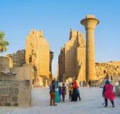 Ο υπερήφανος Luxor Στοκ Εικόνες