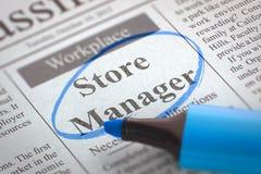 Ο υπεύθυνος μαγαζιό προσχωρεί στην ομάδα μας τρισδιάστατος Στοκ Φωτογραφίες