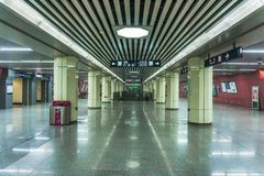 Ο υπόγειος του Πεκίνου Στοκ εικόνα με δικαίωμα ελεύθερης χρήσης