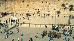 Ο δυτικός τοίχος, Ισραήλ απόθεμα βίντεο