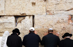 Ο δυτικός τοίχος στην Ιερουσαλήμ Στοκ εικόνα με δικαίωμα ελεύθερης χρήσης