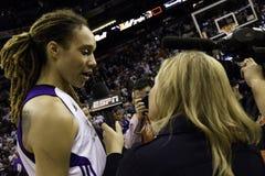 Ο υδράργυρος WNBA Phoenix κερδίζει στοκ εικόνες