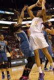 Ο υδράργυρος WNBA Phoenix κτυπά τα λυγξ Μινεσότας στοκ φωτογραφία με δικαίωμα ελεύθερης χρήσης