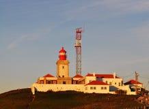 Ο φάρος - ακρωτήριο Roca στοκ εικόνες