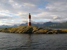 Ο φάρος στο τέλος του κόσμου Στοκ φωτογραφία με δικαίωμα ελεύθερης χρήσης