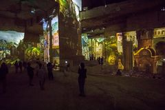 Ο φανταστικός και θαυμάσιος κόσμος Bosch, Brueghel και Arcimboldo Στοκ φωτογραφία με δικαίωμα ελεύθερης χρήσης