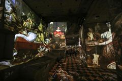 Ο φανταστικός και θαυμάσιος κόσμος Bosch, Brueghel και Arcimboldo στοκ εικόνα με δικαίωμα ελεύθερης χρήσης