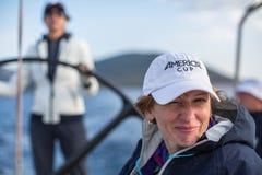 16ο φθινόπωρο 2016 Ellada regatta ναυσιπλοΐας μεταξύ της ελληνικής ομάδας νησιών στο Αιγαίο πέλαγος, στις Κυκλάδες και το Σαρωνικ Στοκ φωτογραφίες με δικαίωμα ελεύθερης χρήσης