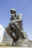 Ο φιλόσοφος από Rodin Στοκ Φωτογραφίες