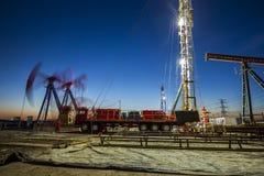 Ο φορτωτήρας πετρελαιοφόρων περιοχών στοκ φωτογραφία με δικαίωμα ελεύθερης χρήσης