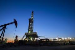 Ο φορτωτήρας πετρελαιοφόρων περιοχών στοκ εικόνες