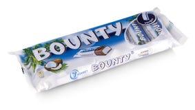 Ο φραγμός σοκολάτας γενναιοδωρίας είναι ένα εμπορικό σήμα του αμερικανικού Άρη, INC στοκ εικόνες