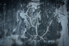 ο φυσικός παλαιός ληφθείς εικόνα τοίχος αστραπής εσωτερικών της Κροατίας εκκλησιών grunge ήταν διανυσματική απεικόνιση