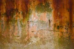 ο φυσικός παλαιός ληφθείς εικόνα τοίχος αστραπής εσωτερικών της Κροατίας εκκλησιών grunge ήταν Στοκ φωτογραφία με δικαίωμα ελεύθερης χρήσης