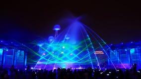ο φωτισμός παρουσιάζει κόμμα Στοκ Φωτογραφία